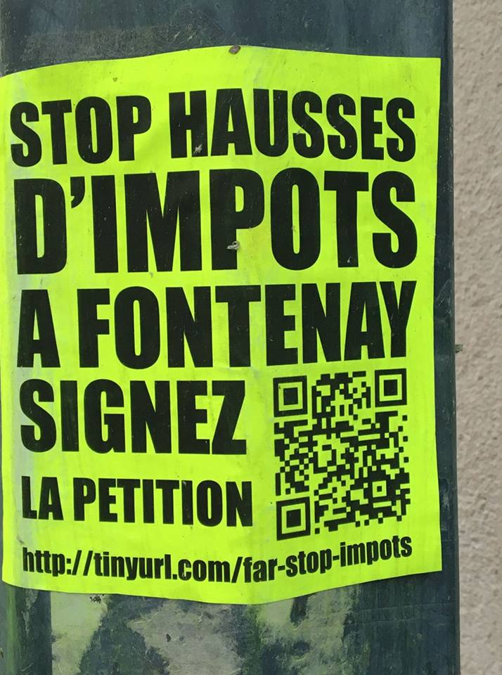 impots petition flyer